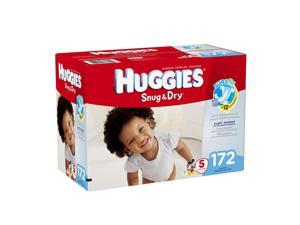Huggies Snug & Dry Diapers, Size 5, 172 Count