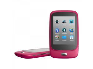 Riptunes 2.8 inch Bluetooth Touch Screen MP3 Video Player - Pink