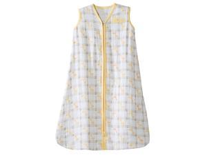 HALO SleepSack Wearable Blanket 100% Cotton Muslin - Yellow Giraffe Xlarge