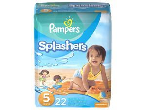 Pampers Splashers Size 5 Swim Pants - 22 Count