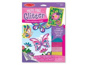Melissa & Doug Mess-Free Glitter - Flower and Butterfly