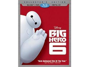 Big Hero 6 Blu-Ray Combo Pack Blu-Ray/DVD/Digital HD