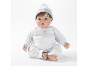 Babblebaby Baby Face - Brunette, Brown Eyes