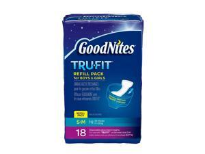 GoodNites TRU-FIT Disposable Absorbent Inserts Refill Pack for Boys & Girls