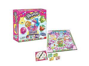 Shopkins&#59; Supermarket Scramble Board Game