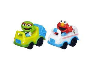 Playskool Sesame Street Racers - Elmo and Oscar