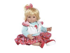 Adora Tickled Pink Light Blonde Hair with Blue Eyes 20 Inch Baby Doll
