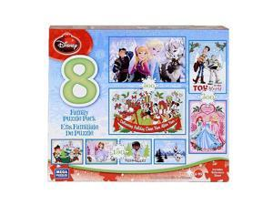 Disney Holiday 8 in 1 Puzzle