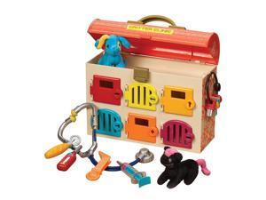 Battat B. Critter Clinic Toy Vet Play Set