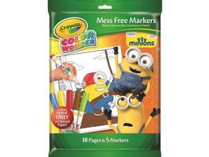 Crayola Color Wonder Mess Free Markers - Minions