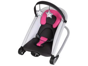 Baby Trend Rock'n 2-in-1 Bouncer - Berry