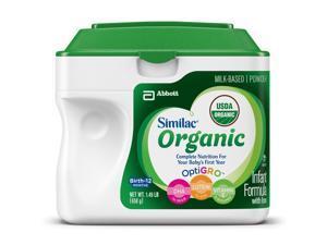Similac SimplePac Organic Powder Formula - 23.2 Ounce