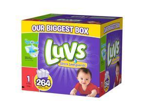 Luvs Size 1 Ultra Leakguards Diaper - 264 Count