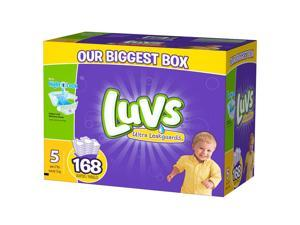 Luvs Size 5 Ultra Leakguards Diaper - 168 Count
