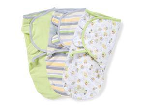 SwaddleMe 3 Pack Busy Bees - Small