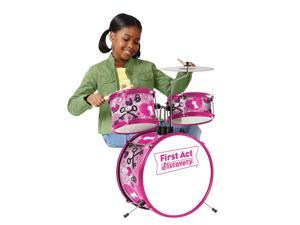First Act Discovery Love Rock Designer Drum Set