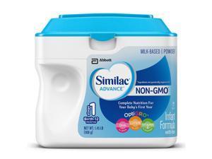 Similac Advance NON-GMO Infant Powder Formula with Iron - 1.45 LB