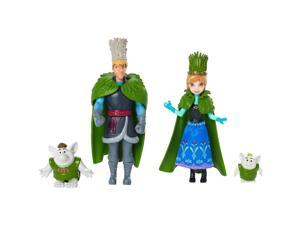 Disney Frozen Anna and Kristoff Doll Wedding Gift Set