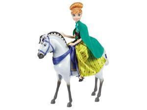 Disney Frozen Anna with Horse 2 Pack