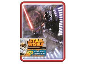 Crayola Darth Vader Collectible 64ct Crayn Tin