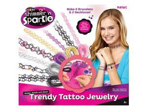 Cra Z Art Shimmer n' Sparkle Trendy Tattoo Jewelry