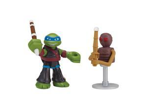 Teenage Mutant Ninja Turtles 2.5 inch Basic Figure 2 Pack - Dojo Leo