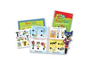 Educational Insights Hot Dots Jr. Pete The Cat Kindergarten Rocks Card Set
