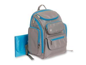 Jeep Places & Spaces Backpack Diaper Bag - Grey/Blue