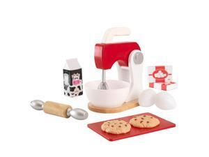 KidKraft Red & White Baking Set