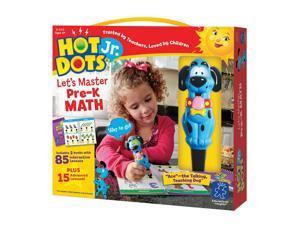 Educational Insights Hot Dots Jr. Let's Master Pre-K Math Set with Ace Pen