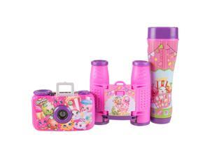 Shopkins 3 Piece Adventure Kit with 35 Millemeter Camera, Binoculars, and