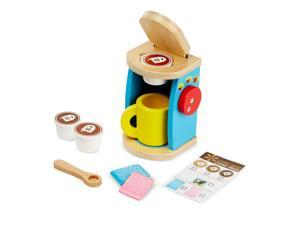 Wooden Brew and Serve Coffee Set by Melissa & Doug