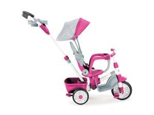 Little Tikes Perfect Fit 4-in-1 Trike - Easy Adjustable Seat, Pink
