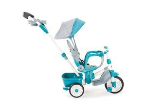 Little Tikes Perfect Fit 4-in-1 Trike - Easy Adjustable Seat, Teal