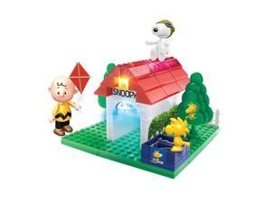 Peanuts Lite Brix Flying Ace Snoopy