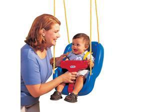 Little Tikes 2-in-1 Snug N Secure Swing - Blue