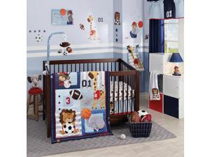 Lambs & Ivy Future All Star 4 Piece Bedding Set