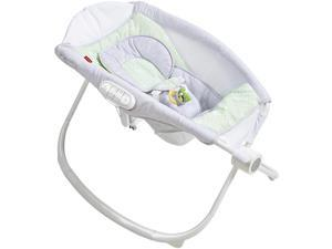 Fisher-Price Newborn Auto Rock 'N Play Sleeper With SmartConnec - Isle Stone