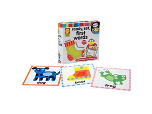 Alex Toys Little Hands Ready, Set, First Words Touch and Feel Flash Cards