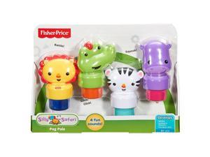 Fisher-Price Silly Safari Peg Pals