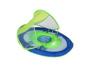Swimways Blue and Green Baby Spring Float Sun Canopy - Phase 1