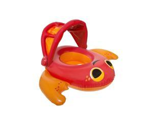 SwimWays Red Crab Sun Cover Baby Boat - Phase 1