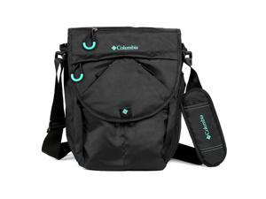 Columbia Horizon Divide Expandable Crossbody Messenger Diaper Bag - Black