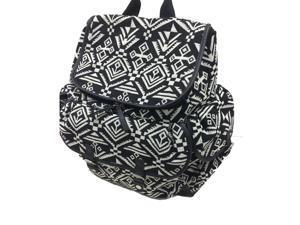 Carters Baby Aztec Jacquard Backpack Diaper Bag - Black