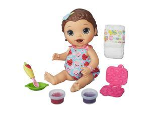 Baby Alive Super Snacks Snackin' Lily Playset - Brunette