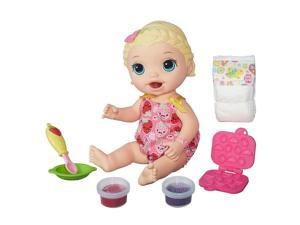 Baby Alive Super Snacks Snackin' Lily Playset - Blonde