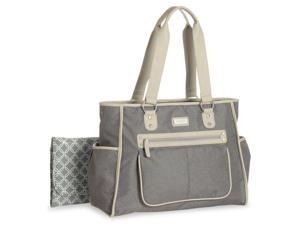 Carter's City Tote Diaper Bag - Grey Textured