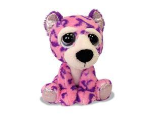 Russ Li'l Peepers Medium Plush - Brooke Purple Leopard