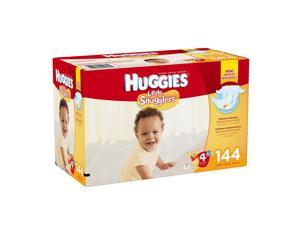 Huggies Little Snugglers Size 4 Baby Diapers - 144 Count
