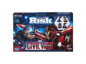 美國隊長 內戰 桌遊  Marvel Captain America Civil War Edition Risk Game